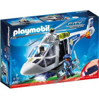 Playmobil 6921 Поліцейський вертоліт з фігурками - іграшка Плеймобіл