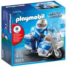 Playmobil 6923 - Полицейский  мотоцикл - игровой набор Плеймобил City Action