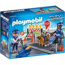 Playmobil 6924 Полицейский блок-пост - игровой набор Плеймобил
