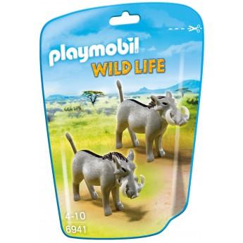 Playmobil 6941 - Бородавочники - фигурки Плеймобил Wild Life