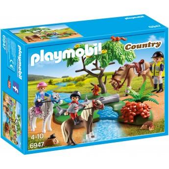 Playmobil 6947 - Прогулка верхом - игровой набор Плеймобил Country