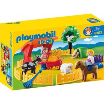Playmobil 6963 - Зоопарк - конструктор Плеймобіл 1.2.3
