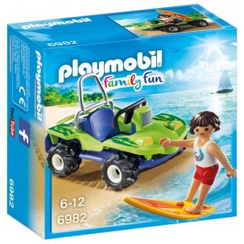 Playmobil 6982 - Серфер с квадроциклом - игровой набор Плеймобил FamilyFun