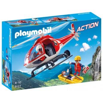 Playmobil 9127 Горноспасательный вертолёт - игрушка Плеймобил