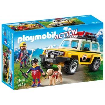 Playmobil 9128 Горноспсательный автомобиль - игрушка Плеймобил