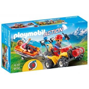 Playmobil 9130 Квадроцикл горного спасателя - игрушка Плеймобил