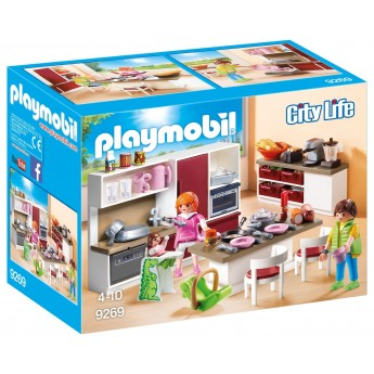 Playmobil 9269 Кухня - игровой набор Плеймобил
