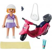 Фигурка Playmobil Посетитель пляжа со скутером (9084)