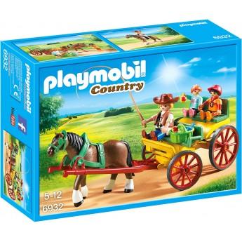 Набор Playmobil Повозка с лошадью (6932)