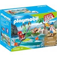 Набор Playmobil Каякинг лодка с фигурками (70035)