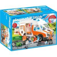 Машинка Playmobil Швидка допомога зі світлом і звуком (70049)