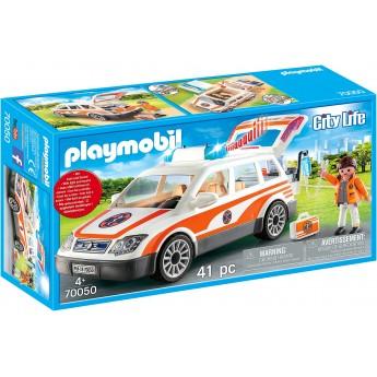 Машинка Playmobil Реанимобиль с сиреной (70050)