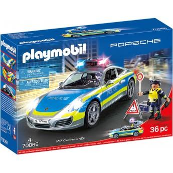 Машинка Playmobil Porsche 911 Carrera 4S Police (70066)