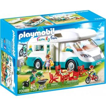 Машинка Playmobil Сімейний автомобіль будинок на колесах (70088)