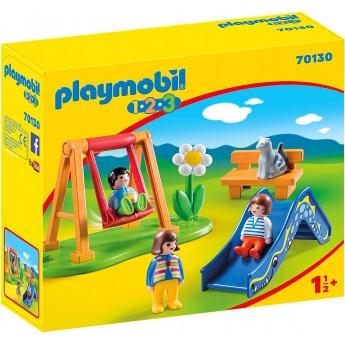 Набор Playmobil Игровая площадка (70130)