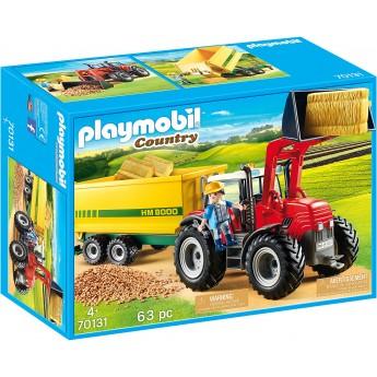 Набор Playmobil Трактор с прицепом (70131)
