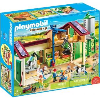 Конструктор Playmobil Ферма с животными (70132)