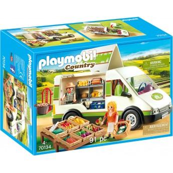 Машинка Playmobil Передвижной фургон с продуктами (70134)