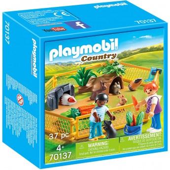 Набір Playmobil Загін з тваринами (70137)