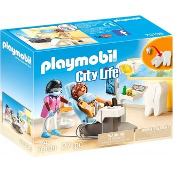 Набор Playmobil Кабинет стоматолога (70198)