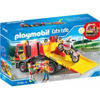Машинка Playmobil Эвакуатор (70199)