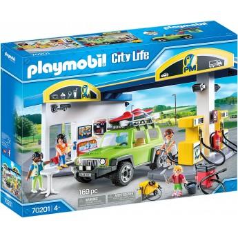 Конструктор Playmobil Заправочная станция (70201)