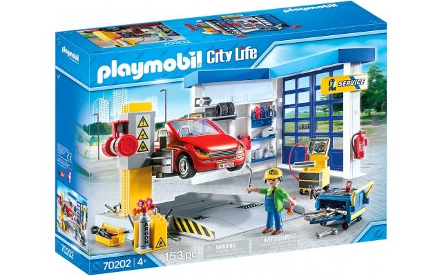Конструктор Playmobil Авто-мастерская СТО (70202)
