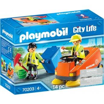 Набор Playmobil Уборщик улицы (70203)