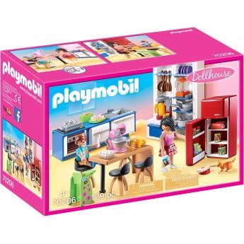 Набор Playmobil Семейная кухня (70206)