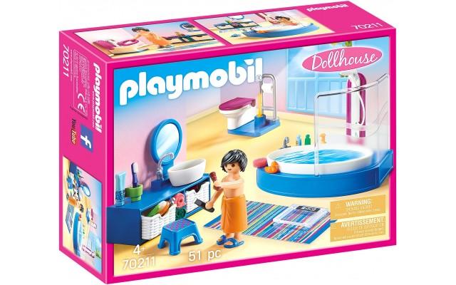 Набор Playmobil Ванная с душевой кабиной (70211)