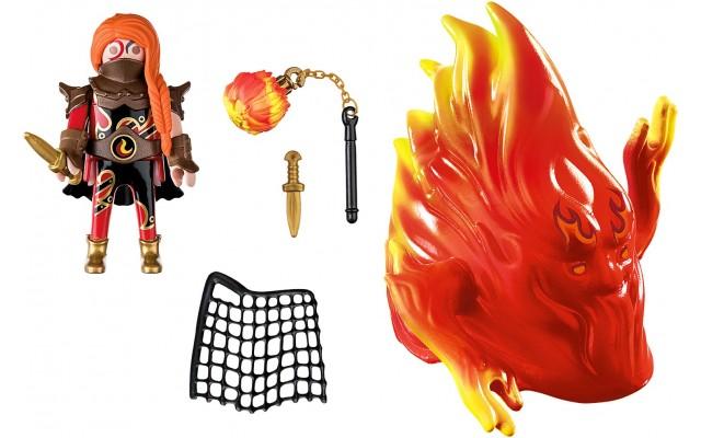 Набор фигурок Playmobil Хранитель огня и Дух огня Бернхэма (70227)