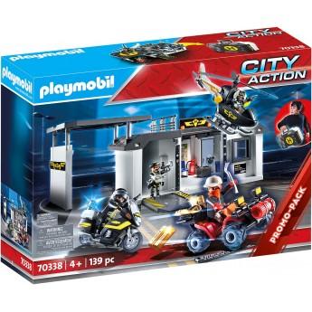 Конструктор Playmobil Переносная штаб-квартира спецназа (70338)
