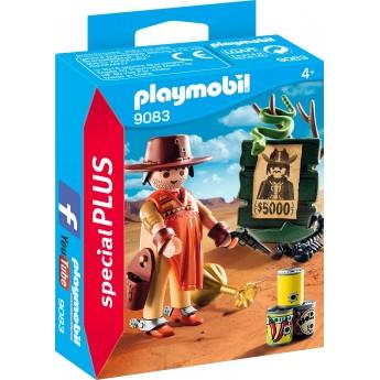 Фигурка Playmobil Ковбой с револьвером (9083)