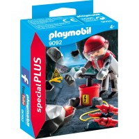 Фигурка Playmobil Шахтер-подрывник с динамитом (9092)