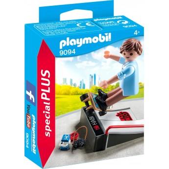 Фигурка Playmobil Скейтбордист на трамплине (9094)