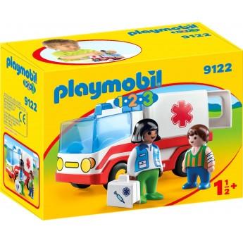 Машинка Playmobil Скорая помощь для малышей (9122)