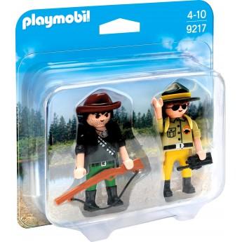 Набор фигурок Playmobil Рейнджер и охотник (9217)