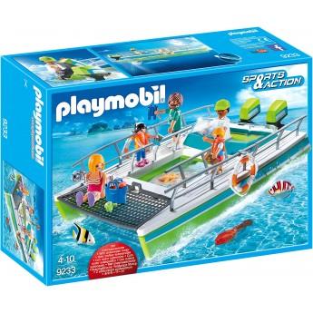 Іграшка Playmobil Катамаран з мотором (9233)