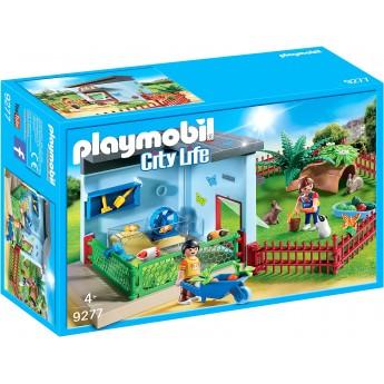 Набор Playmobil Приют для маленьких зверей (9277)