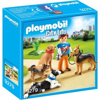 Набор фигурок Playmobil Дрессировщик собак (9279)