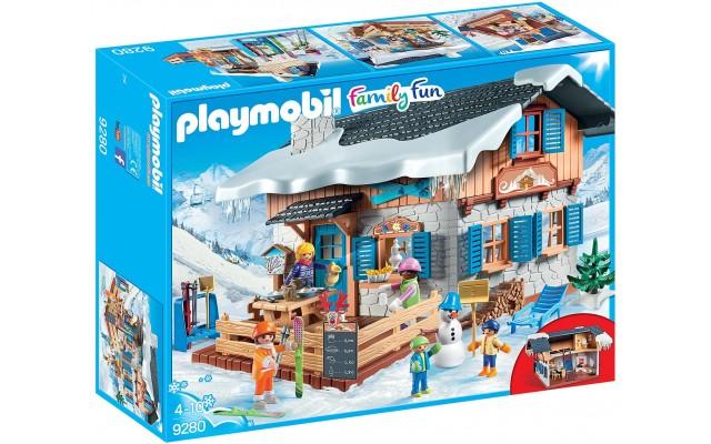 Игровой набор Playmobil Лыжная база от 4 лет (9280)