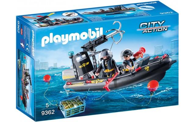 Игровой набор Playmobil Моторная лотка спецназа (9362)