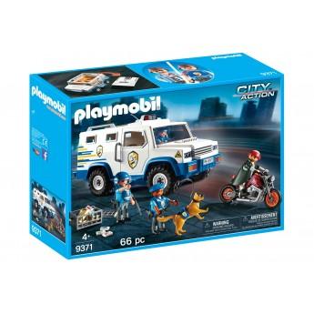 Playmobil 9371 Полицейская инкассаторская машина