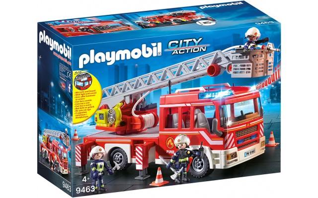 Машинка Playmobil Пожежна вантажівка з драбиною (9463)