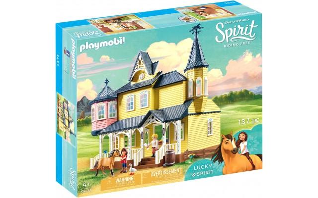Конструктор Playmobil Счастливый дом Лаки (9475)