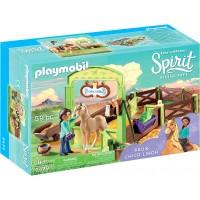 Набор Playmobil Лошадиный загон Пру и Чика Линда (9479)