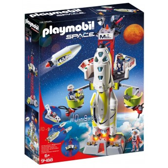 Playmobil 9488 - Космическая ракета с базовой станцией (2018)
