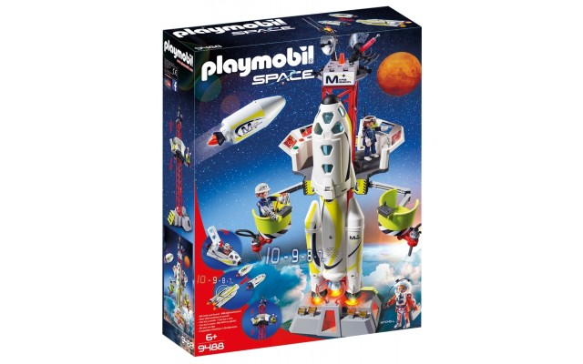 Playmobil 9488 - Космічна ракета з базовою станцією (2018)