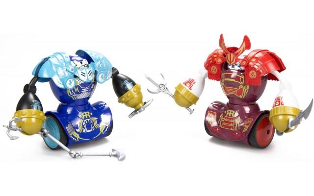 Игровой набор Silverlit YCOO Роботы-самураи со светом и звуком (88056)