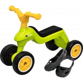 Ролоцикл BIG з захисними насадками зелений (55301)